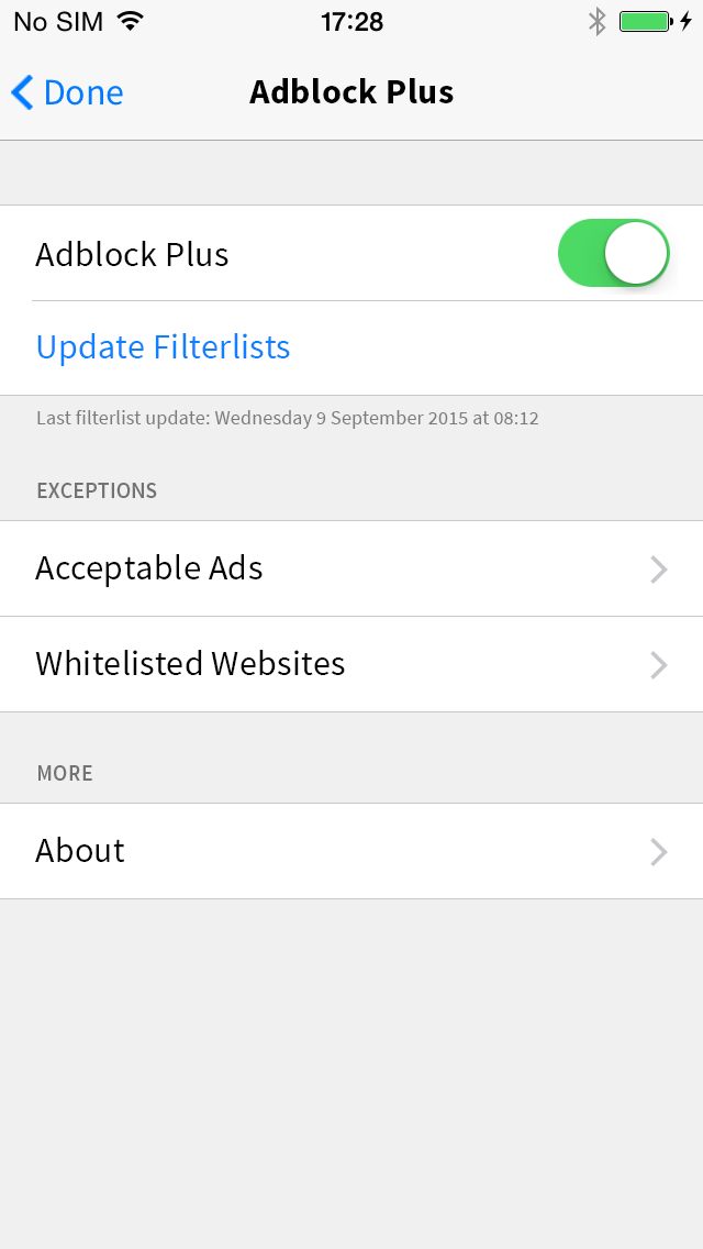 3165 as a user i want to be able to configure a whitelist