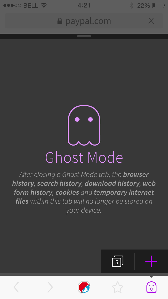 3408 (Ghost Mode for Adblock Browser for iOS) – Adblock Plus