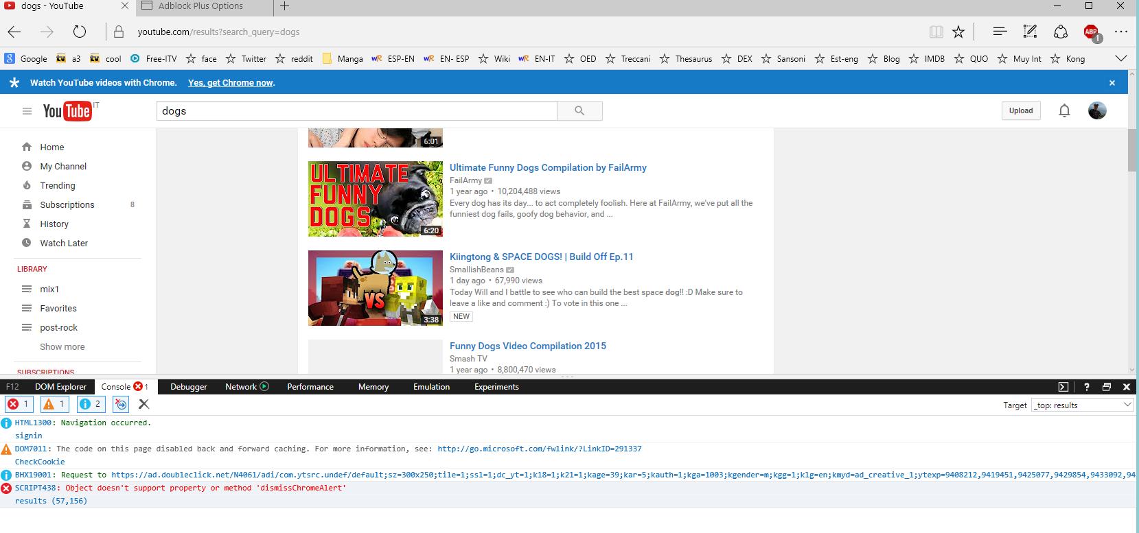 Adblock extension google chrome