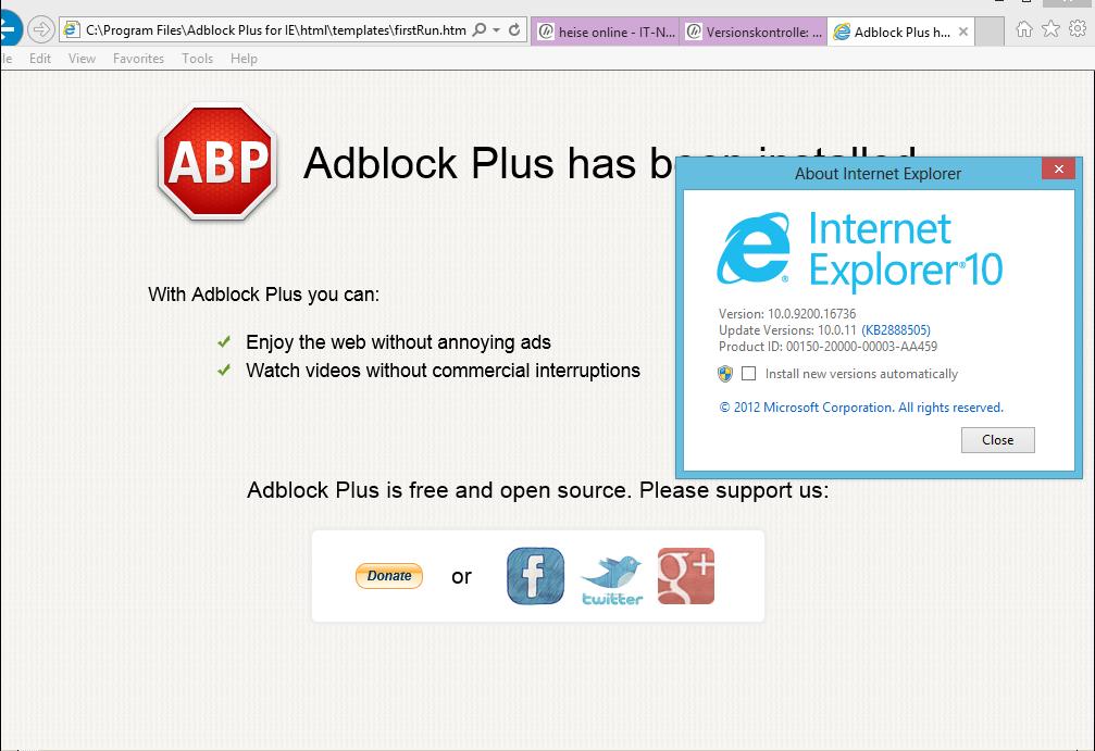 adblock pour ie10